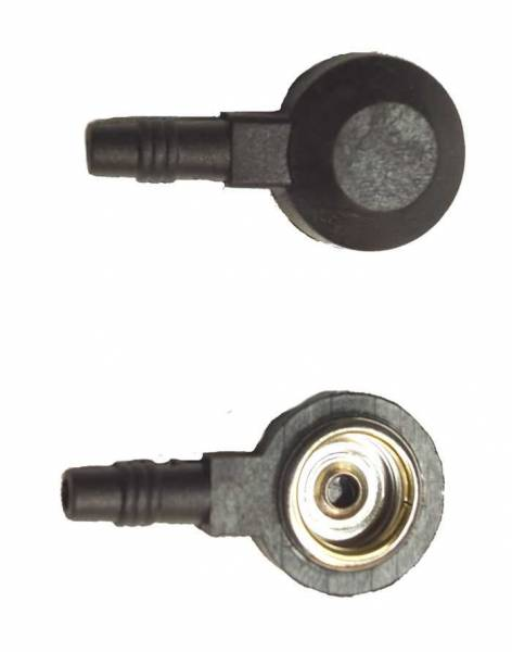 Druckknopf-Adapter von 2mm-Stecker auf 10mm-Druckknopf