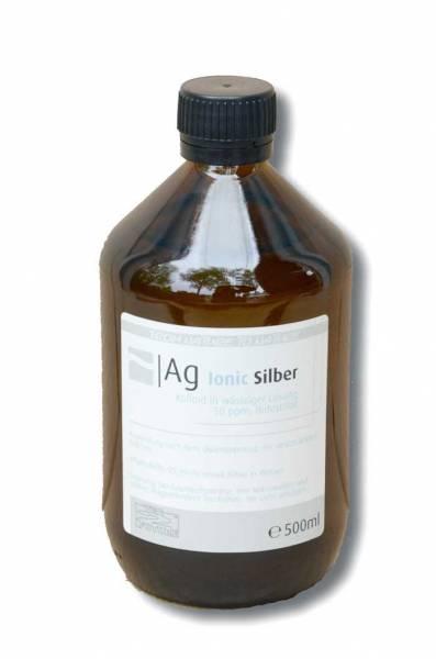 Vorschau: Kolloidales Silber 500ml - natürliches Antibiotikum der Kolloide 200ml