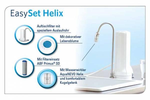 Vorschau: Auftisch Filtergehäuse ALVITO Easy Helix - Wasseraufbereitung zu Hause