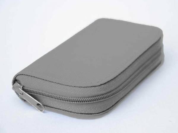 Vorschau: Aufbewahrungs-Etui geschlossen grau für bis zu 22 Frequenz-Chipcards für Zapper