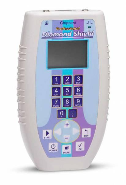 Vorschau: Frequenzgenerator und Zapper Diamond Shield professional für Frequenztherapie nach Dr. Hulda Clark – hier kaufen