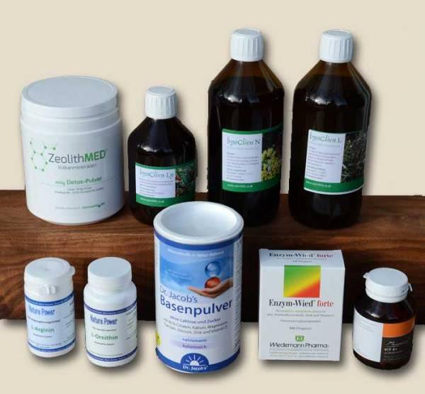 Medizinische Detox-Kur Intensiv von Alternativ Gesund für 4 Wochen - Körper entgiften mit Entschlackungskur