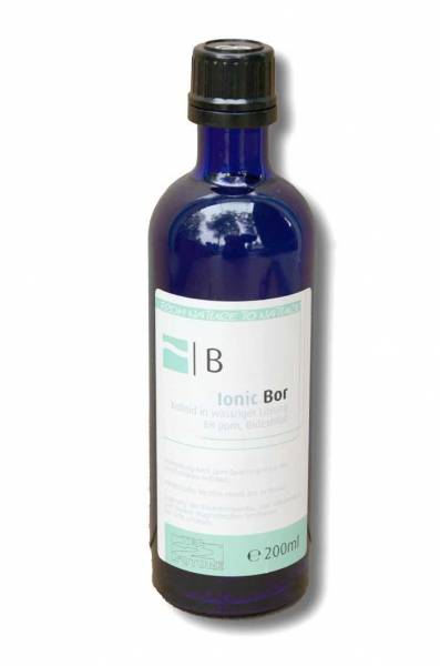 Vorschau: Kolloidales Bor 200ml - als Kolloid perfekt bioverfügbar
