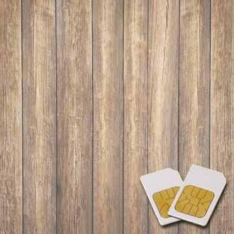 Chipkarte HOLZ-DÄMPFUNG für Zapper Diamond Shield nach Hulda Clark