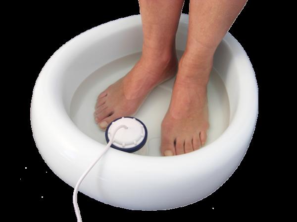 Thermo-isolierte Fußwanne für Detox Elektrolyse Fußbad Gerät