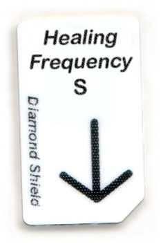 Leer-Chipcard small für das Speichern von Frequenzprogrammen am PC