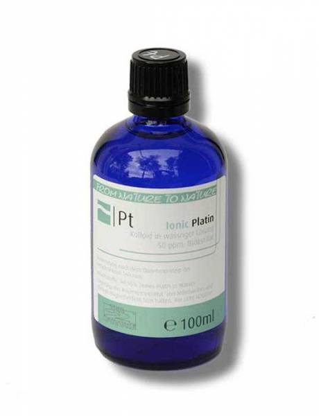 Vorschau: Kolloidales Platin 100ml - als Kolloid perfekt bioverfügbar