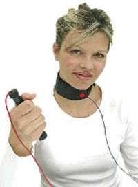 Hals-Manschette 60cm - Nass-Anwendung für lokales Zappen